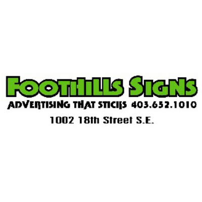 Foothills Signs logo